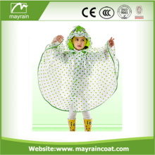 Lovely Kids Raincoat PVC Children Rain Poncho