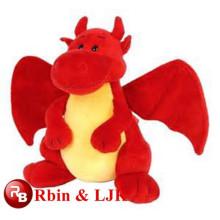 Плюшевая игрушка красный дракон