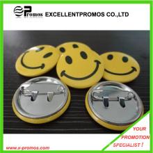 Venta al por mayor personalizada Customzied insignia estampada estaño insignia (EP-B9072)