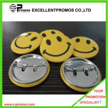 Cheap Wholesale Customzied Logo Printed Tin Badge (EP-B9072)