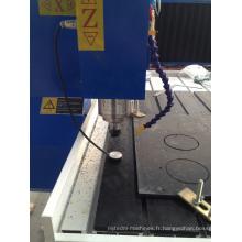 Machine de gravure de coupe du routeur 6090 de commande numérique par ordinateur pour l'aluminium de PVC de carte PCB