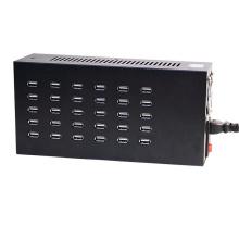 30 Häfen 200W USB-Aufladeeinheit 5V 1A 2A 2.1A Universalauto-Aufladestation