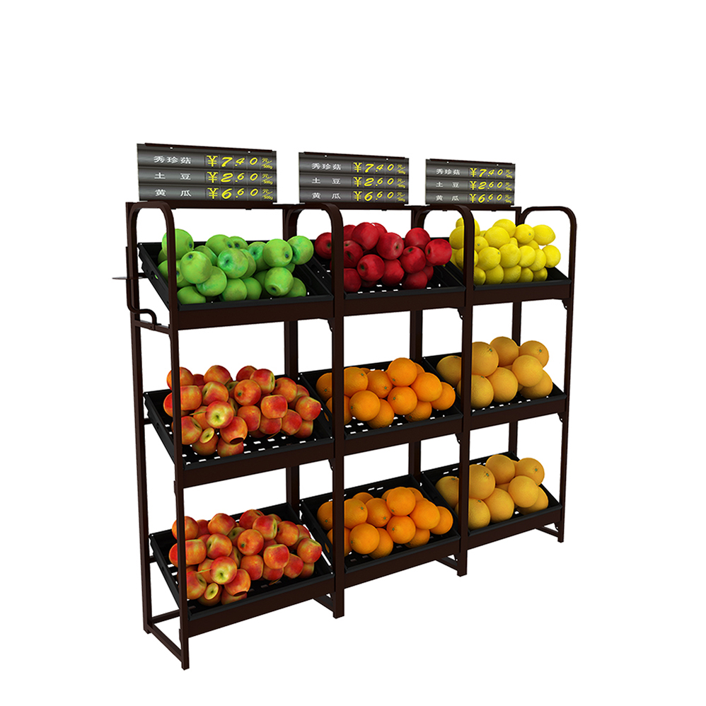 Grocery Store Vegetable Rack