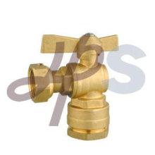 латунный шариковый клапан для трубы PE
