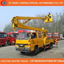 Caminhão alto da cubeta do caminhão da operação da plataforma de 14m 16m para a venda
