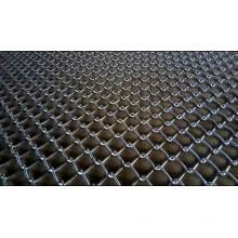 cerca usada galvanizada de malha de arame