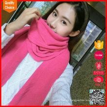 Moda al por mayor customzied lana bufanda
