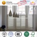 Erschwingliche hölzerne Plantagenfenster-Fensterladen hergestellt in China