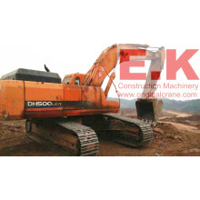 50ton Used 2010 Year Hydraulic Doosan Crawler Escavadeira (DH500LC-7)