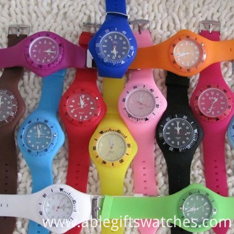 silicone toy watch