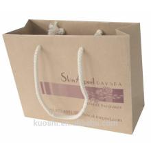 échantillons gratuits sac en papier kraft fond plat