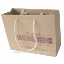 free samples flat bottom kraft paper bag
