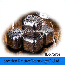 Hot Selling Stainless Steel Ice Cube Ice Cube Stones Whiskey Chilling