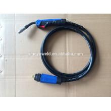 16mm2 cable de soldadura mig / cable de antorcha de soldadura