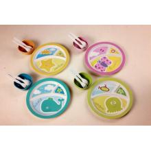 (BC-CS1076) Ensemble de vaisselle en fibre de bambou pour enfants