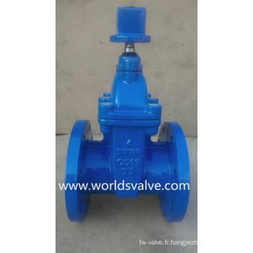 Vanne d'arrêt en fonte ductile Awwa C509 pour eau