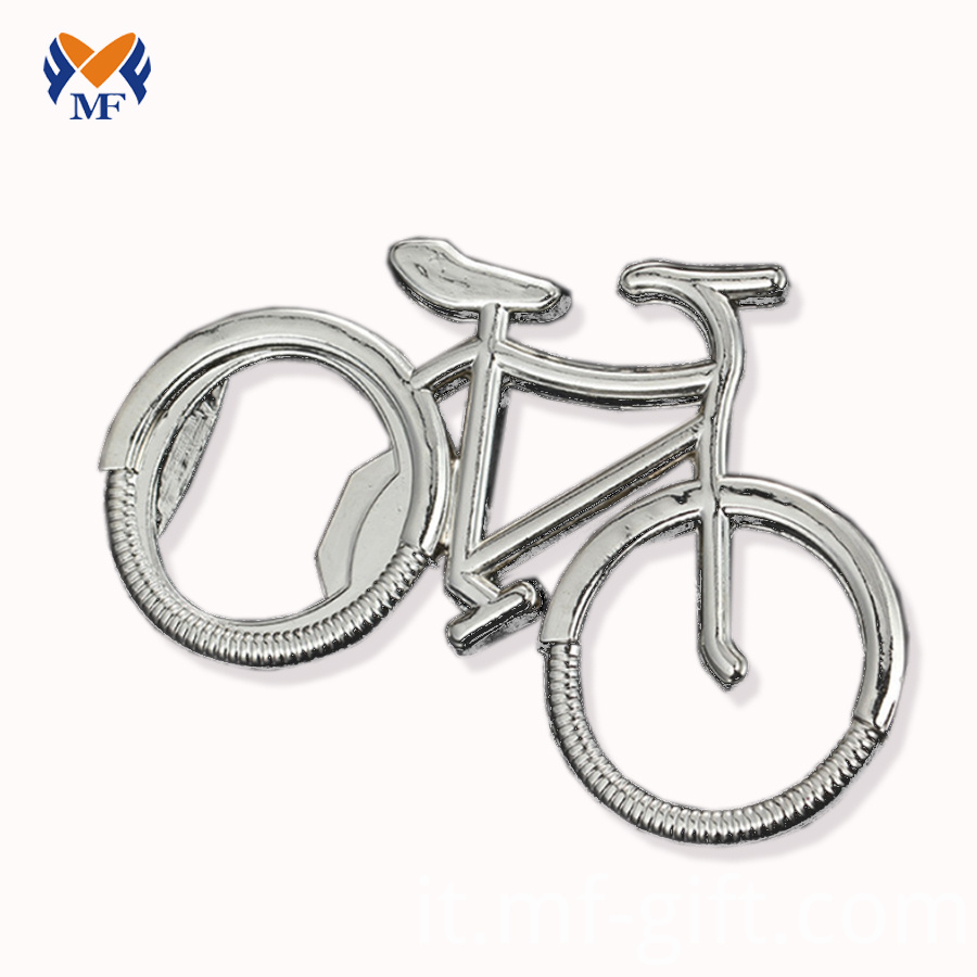 Metal Bike Keychain
