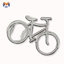 Metal Bike Keyring With Bottle Opener