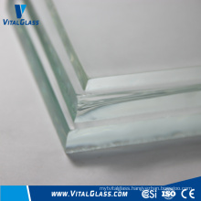 19mm Tempered Glass Clear Float Glass with CE & ISO9001