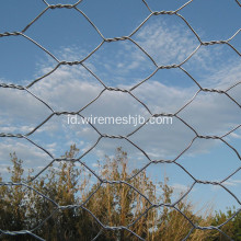 Hot dicelup Galvanized Chicken Wire Mesh