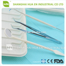 Ensembles d'instruments composites dentaires, kits d'instruments dentaires, instruments dentaires