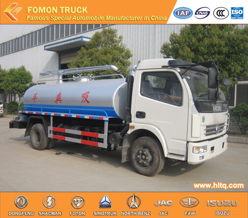 1 fecal tank suction truck