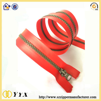 plastic waterproof zipper for sale