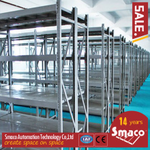 Heavy duty warehouse storage three columns widening pallet rack system
