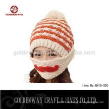Großhandel Slouchy Baggy gestrickte Frauen Winter Beanie Hüte
