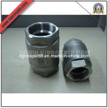 Válvula de retención de 2 piezas de acero inoxidable (YZF-V06)