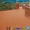 Garten-hölzerner zusammengesetzter Decking im Freien, hölzerner Plastikdecking, Boden-Holz