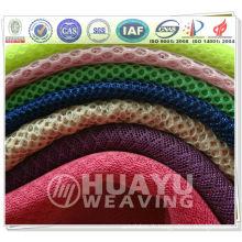Tissu en maille pour chaussures, sacs et bagages, textile de maison, chaise de bureau, tapisserie d'ameublement, doublure d'habillement, industrie et médical