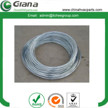 Zinc coated steel tube for automobile brake system