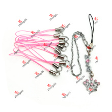 Colorido corda handset freio chaveiro presentes de férias (cmr51111)