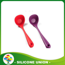 BPA free silicone rubber soup spoon/silicone spoon