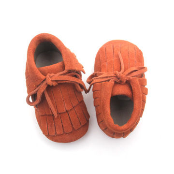 Fashion Leather Baby Boot Moccasins