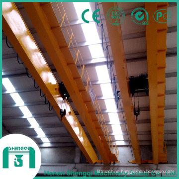 2016 Qd Model Overhead Crane with Hook Capacity 16/3.2 Ton