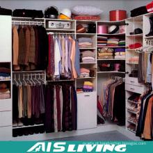 Caminhada de laca branca no armário de guarda-roupas (AIS-W358)