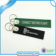 2016 Art Gifts Hot Sale Custom Embroidery Key Ring