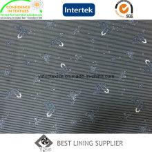 Doublure imprimée de tissu de doublure de veste des hommes de polyester 100