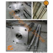 PVC Verarbeitung Parallel doppelte Schnecke und Zylinder
