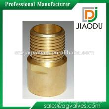 Alta qulity e baixo preço zhejiang fabricação forjado originais de latão de cor macho rosca npt latão acessórios para tubos de mamilo