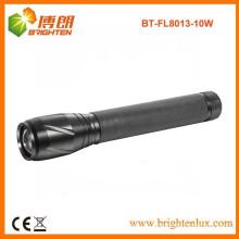 Versorgung Heavy Duty Black Metal 3C Super Bright Outdoor Jagd 10W XML2 T6 Cree LED Zooming 1000m lange Reichweite LED-Taschenlampe