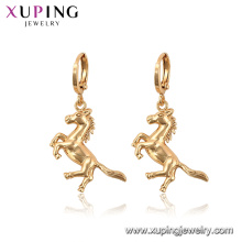 96948 xuping fashion animal horse drop no stone earrings for women
