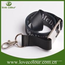 Fashional cordón promocional promocional acollador para los hombres