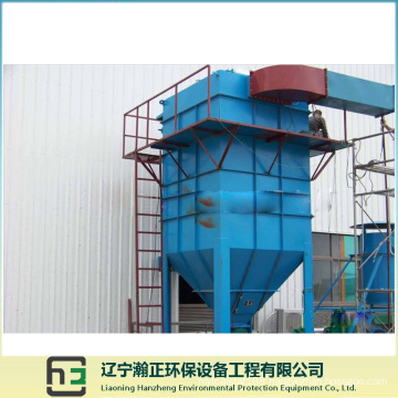 Induction Furnace Air Flow-2 Long Bag Low-Voltage Pulse Dust Collector
