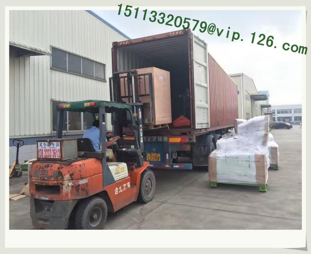 Plastic Crusher Container Loading B