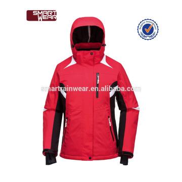 SML XL XXL XXXL chaqueta colorida al aire libre del esquí de la nieve impermeable del invierno de las mujeres