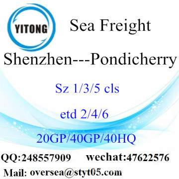 Shenzhen Port Seefracht Versand nach Pondicherry