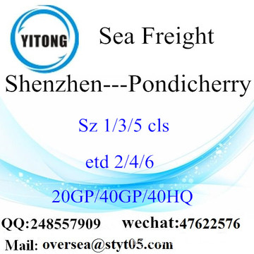 Shenzhen Port Sea Freight Shipping ke Pondicherry